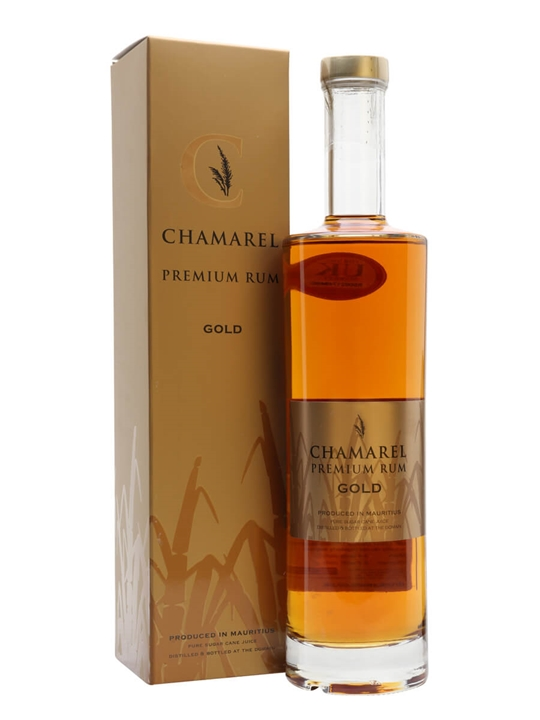 Chamarel Gold Rum Single Traditional Blended Rum