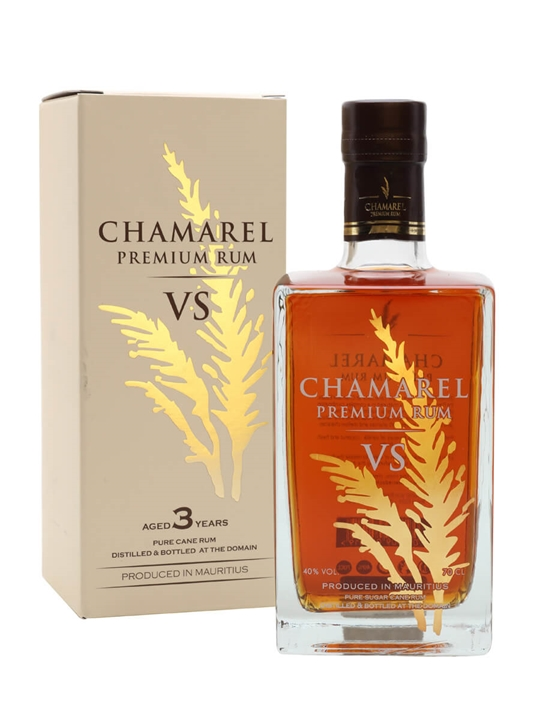 Chamarel VS Premium Rum Single Traditional Blended Rum