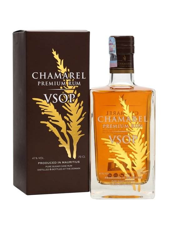 Chamarel VSOP Premium Rum Single Traditional Blended Rum