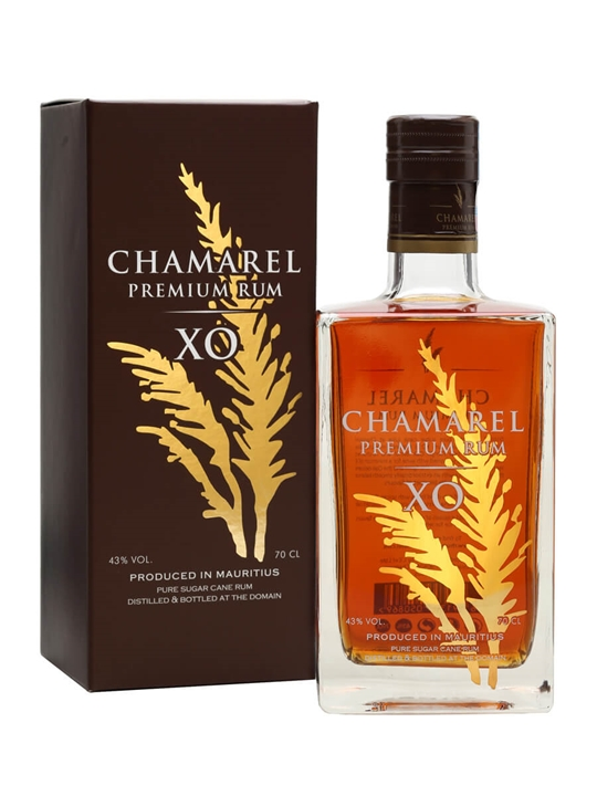 Chamarel XO Premium Rum Single Traditional Blended Rum