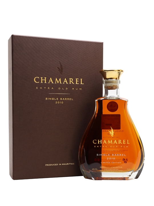 Chamarel Single Barrel 2010 Rum Single Traditional Blended Rum