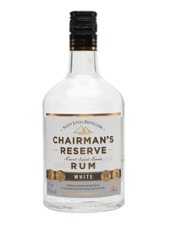 Chairman's Reserve White Label Rum Single Traditional Blended Rum