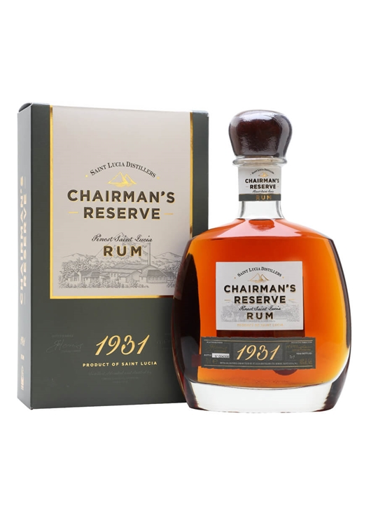 Chairman's Reserve 1931 Rum Single Traditional Blended Rum