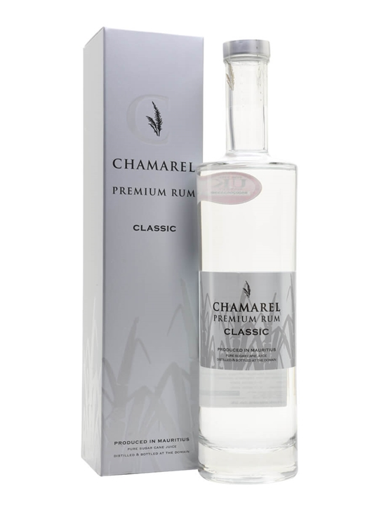 Chamarel Classic White Rum Single Traditional Blended Rum