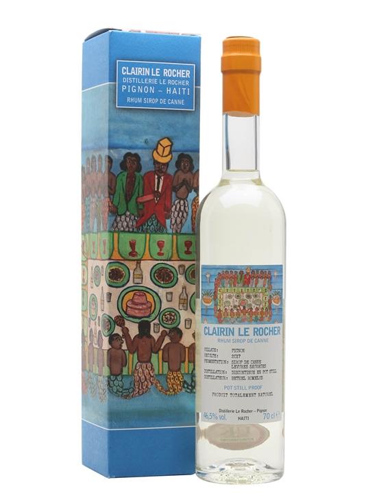 Clairin Le Rocher 2017 Single Traditional Pot Rum