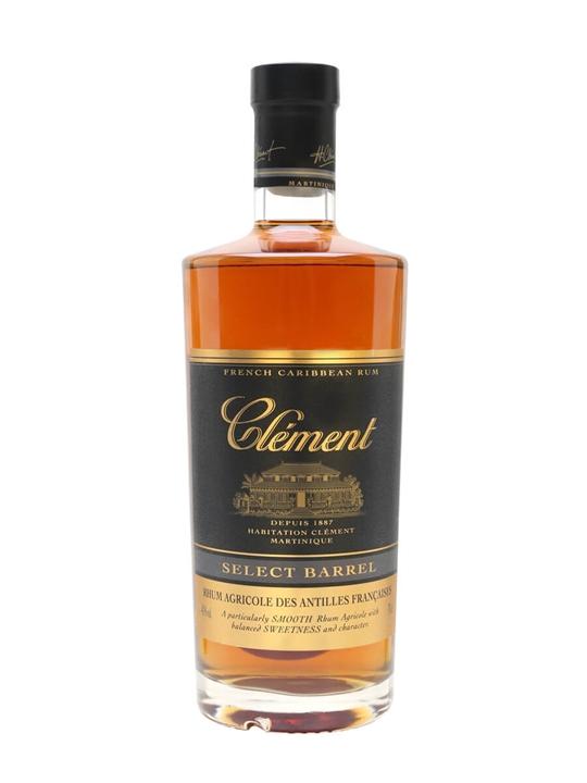 Clement Rhum Vieux Select Barrel Single Traditional Column Rum
