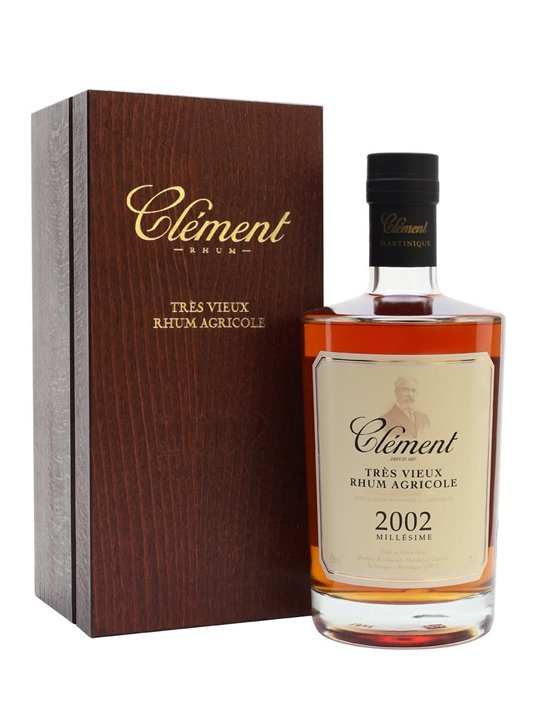 Clement Rhum 2002 Vintage Single Traditional Column Rum