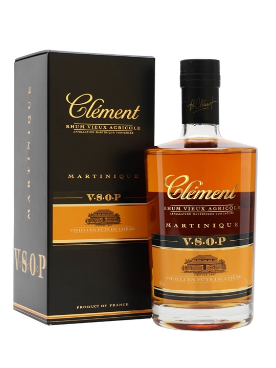 Clement VSOP Agricole Rum Single Traditional Column Rum