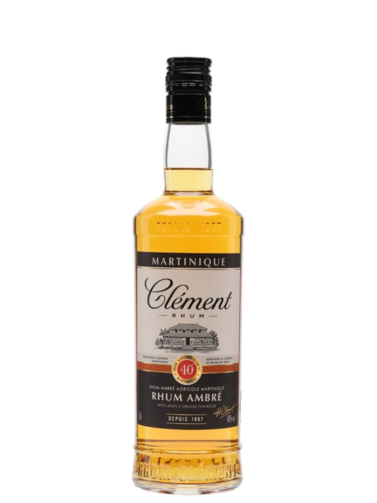 Clement Ambre Rum Agricole Single Traditional Column Rum