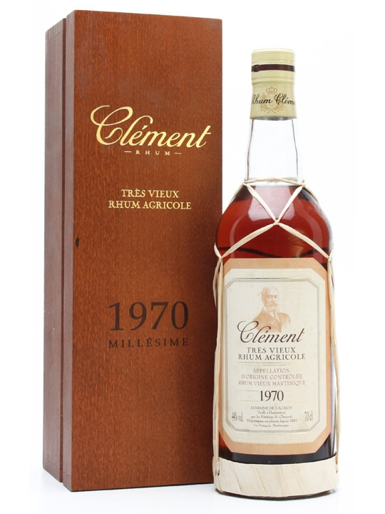 Clement 1970 Rum Single Traditional Column Rum