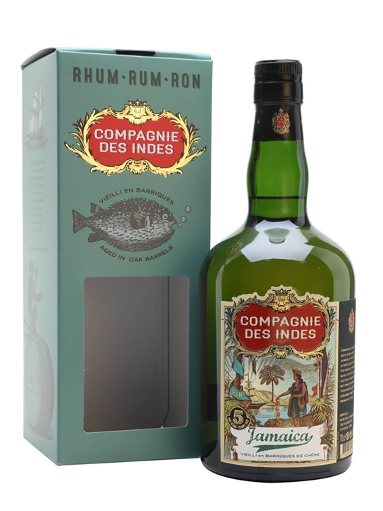 Jamaica 5 Year Old / Compagnie des Indes Single Traditional Pot Rum