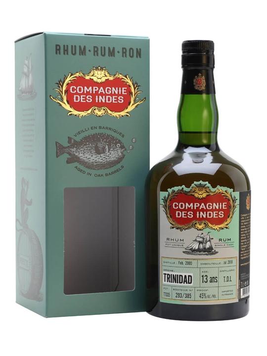 Trinidad TDL 2005 Rum / 13 Year Old / Compagnie des Indes