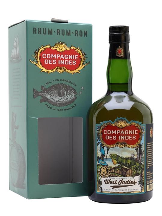 West Indies 8 Year Old / Compagnie des Indes Blended Modernist Rum