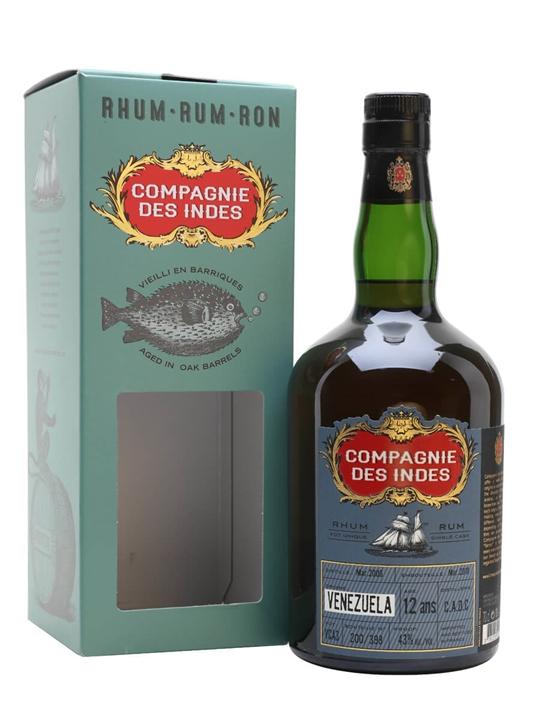 Venezuela CADC 12 Year Old  / Compagnie des Indes Single Modernist Rum
