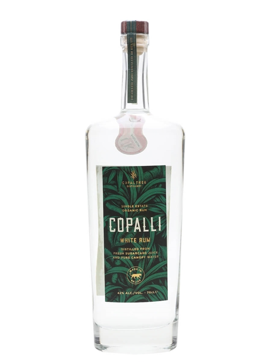 Copalli Single Estate White Rum Single Traditional Blended Rum