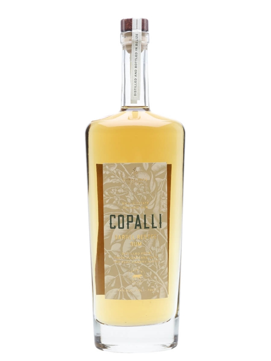 Copalli Single Estate Barrel Rested Rum Single Traditional Blended Rum