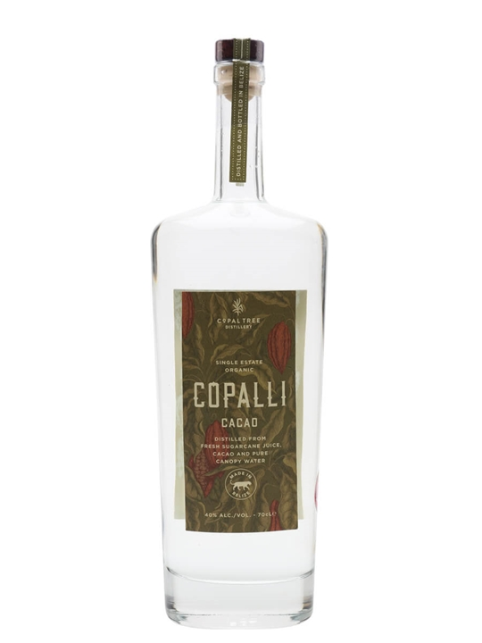 Copalli Single Estate Cacao Rum Single Traditional Blended Rum