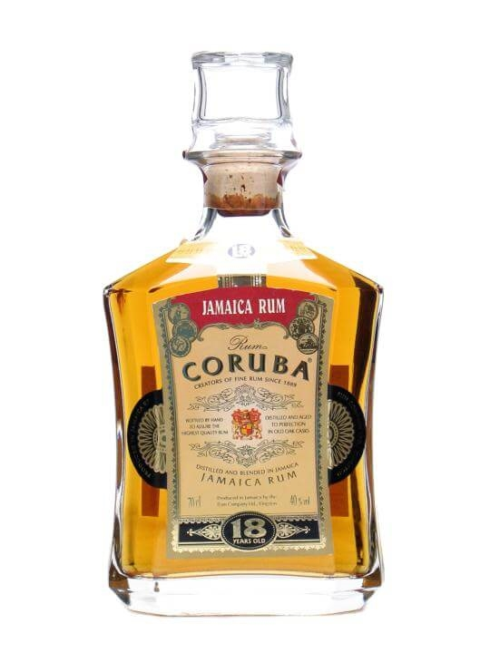 Coruba 18 Year Old Jamaica Rum Single Traditional Blended Rum