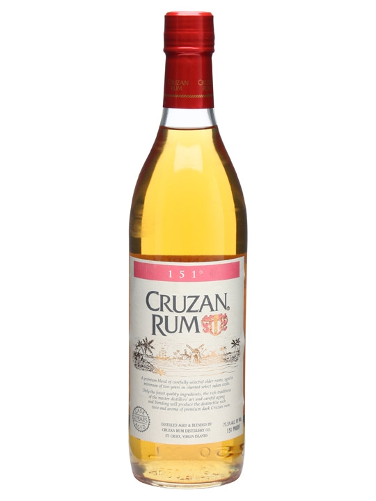 Cruzan 151 Single Modernist Rum