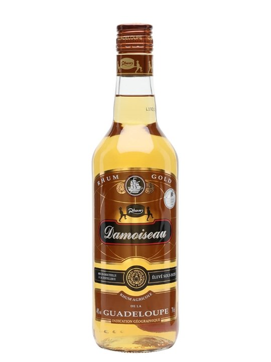 Damoiseau Gold Rum Single Traditional Column Rum