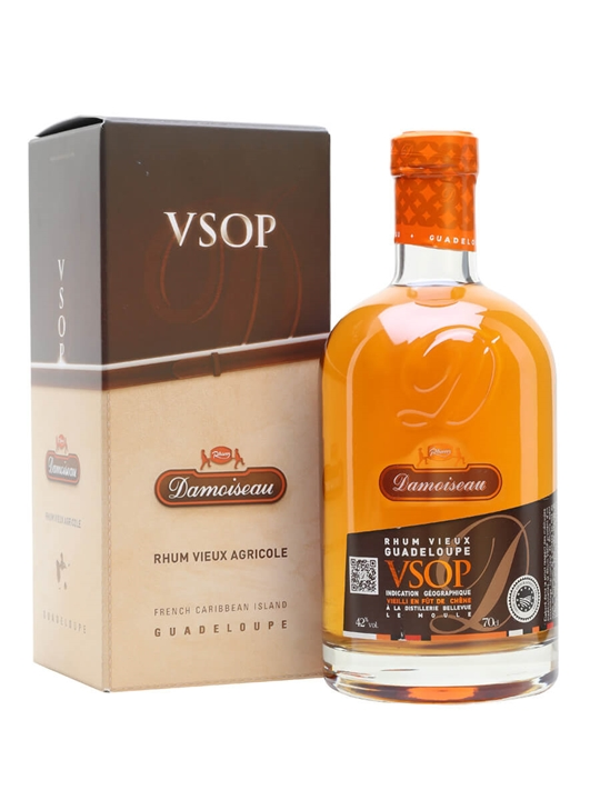 Damoiseau VSOP Rum Single Traditional Column Rum