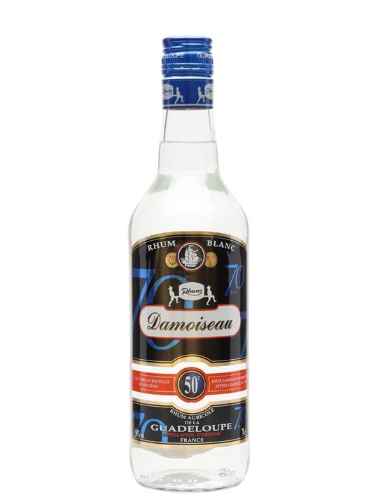 Damoiseau White Rum (50%) Single Traditional Column Rum