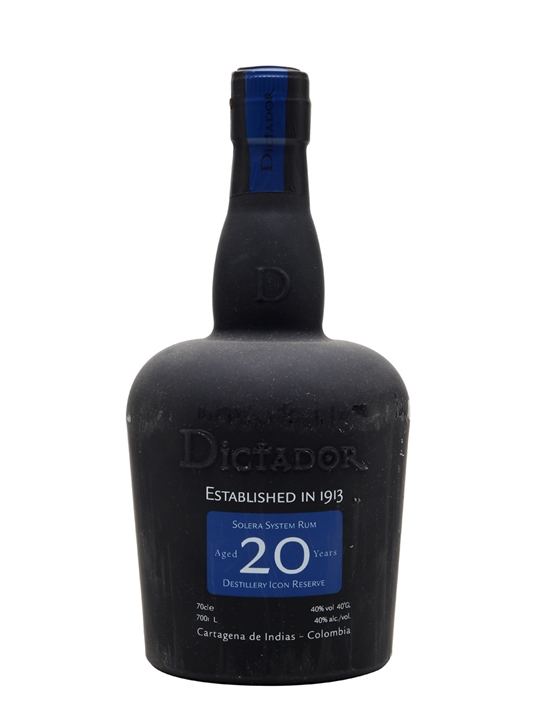 Dictador 20 Year Old / Distillery Icon Reserve Blended Modernist Rum