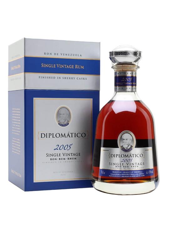 Diplomatico Single Vintage 2005 Rum Single Modernist Rum