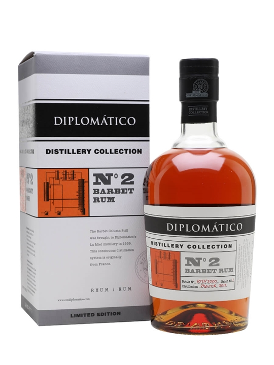 Diplomatico Barbet Rum / Distillery Collection No.2