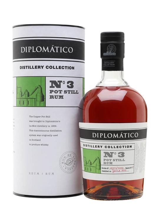 Diplomatico Pot Still Rum / Distillery Collection No.3