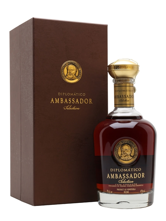 Diplomatico Ambassador Single Traditional Pot Rum