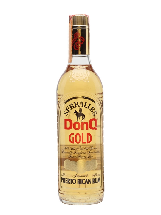 Don Q Gold Rum / Bot.1980s