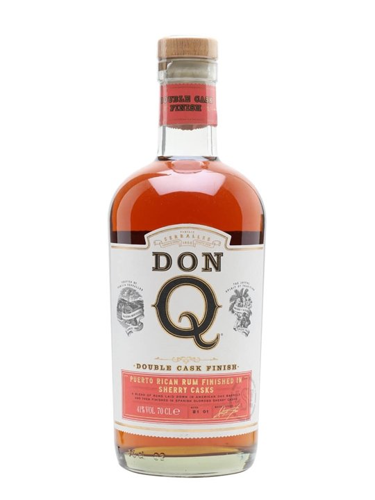 Don Q Double Wood Rum / Sherry Wood Finish Single Modernist Rum