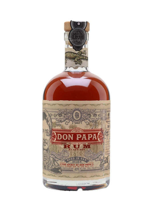 Don Papa 7 Year Old Small Batch Rum Single Modernist Rum