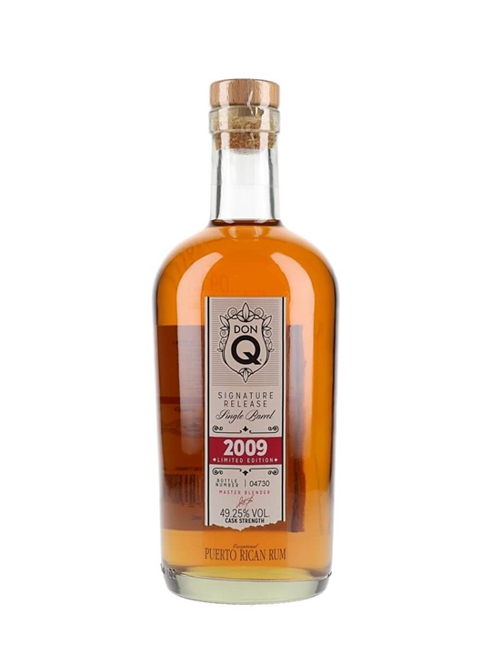 Don Q Signature Release Single Barrel 2009 Single Modernist Rum