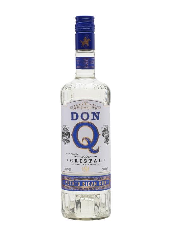 Don Q Cristal Rum Single Modernist Rum