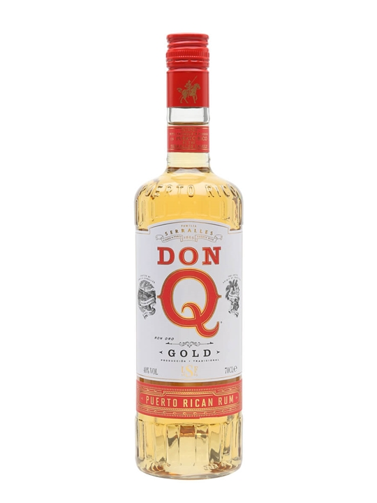 Don Q Gold Rum Single Modernist Rum