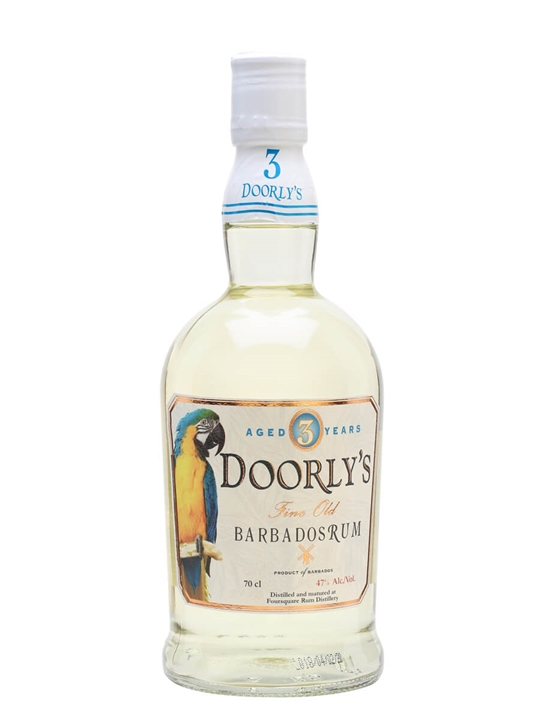 Doorly's 3 Year Old White Rum / Overproof