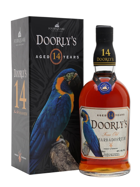 Click to view product details and reviews for Doorlys 14 Year Old Rum.