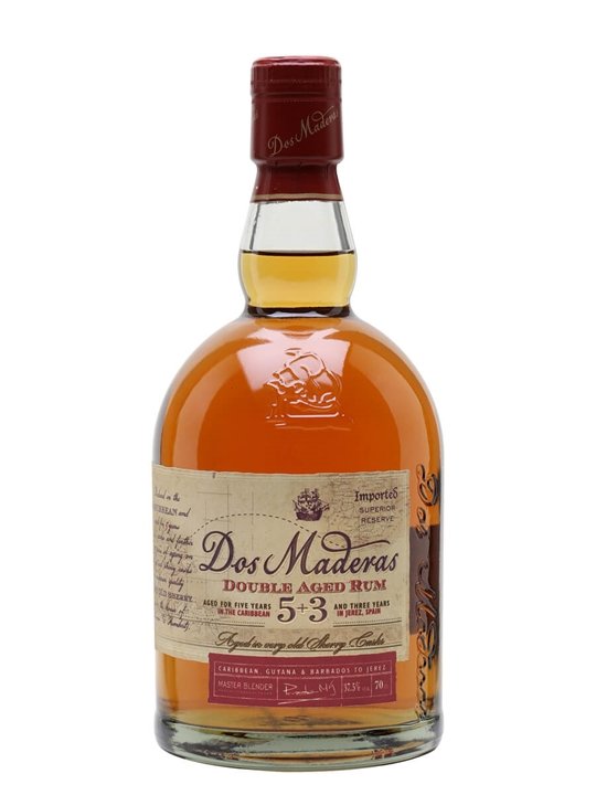 Dos Maderas Anejo Rum / 5+3 / 8 Year Old Blended Modernist Rum
