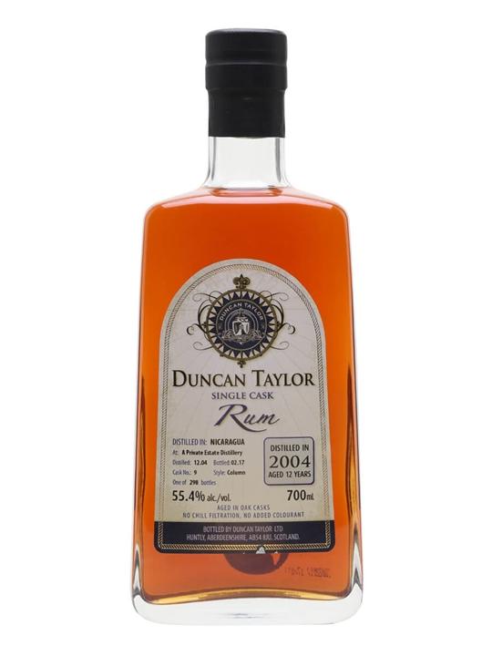 Nicaragua 2004 Rum / 12 Year Old / Duncan Taylor Single Modernist Rum