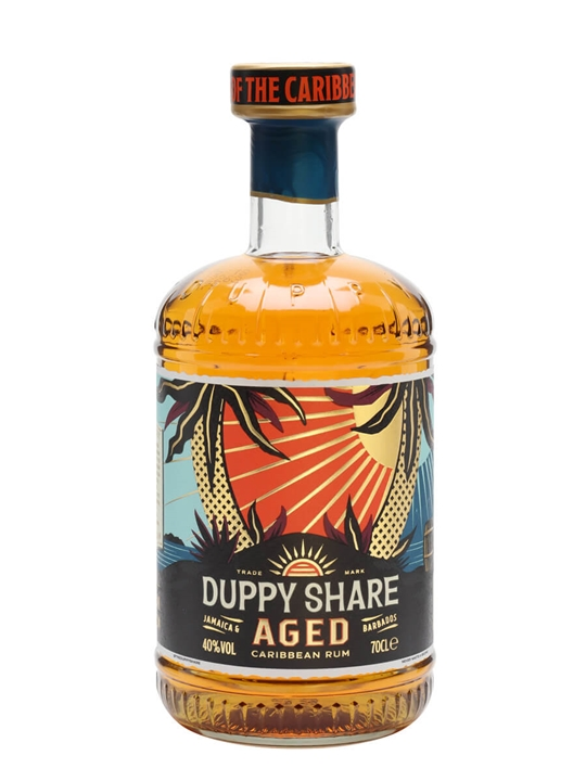 The Duppy Share Rum Blended Traditionalist Rum