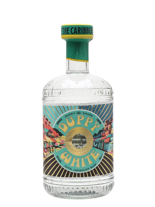 The Duppy Share White Rum Blended Traditionalist Rum