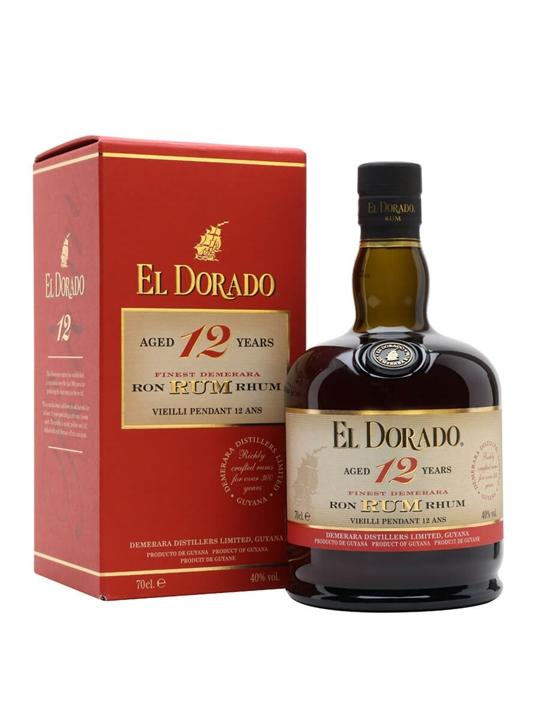 El Dorado Rum 12 Year Old Single Traditional Blended Rum