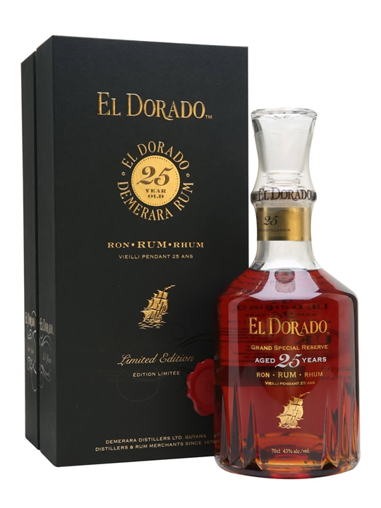El Dorado 1992 / 25 Year Old Single Traditional Blended Rum