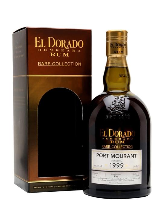 El Dorado Port Mourant 1999 / 15 Year Old / Rare Collection