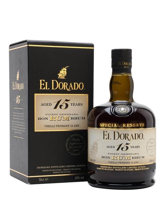 El Dorado Rum 15 Year Old / Special Reserve