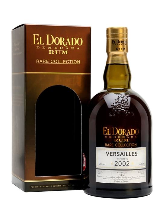 El Dorado Versailles 2002 / 12 Year Old / Rare Collection