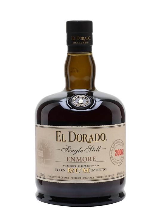 El Dorado Enmore EHP 2006 Single Traditional Column Rum