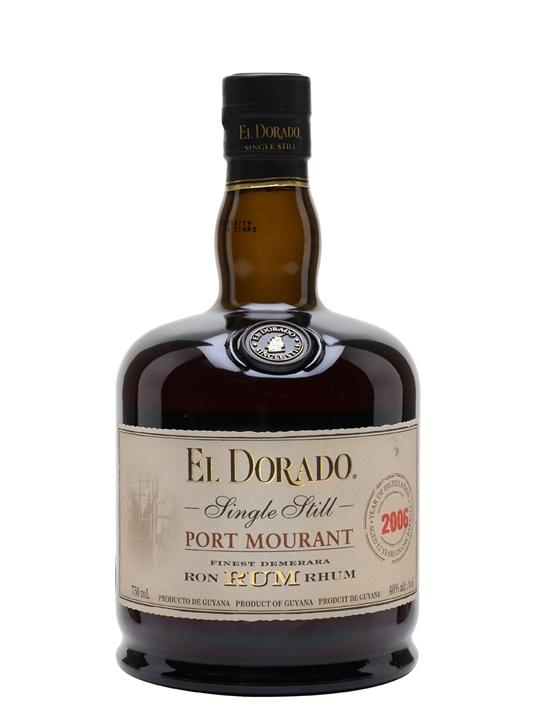 El Dorado Port Mourant PM 2006 Single Traditional Pot Rum